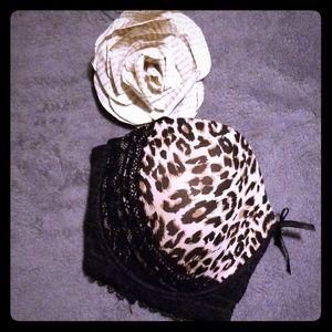 New Leopard Lace Bra